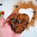 Borůvky: bezlepkové brownies