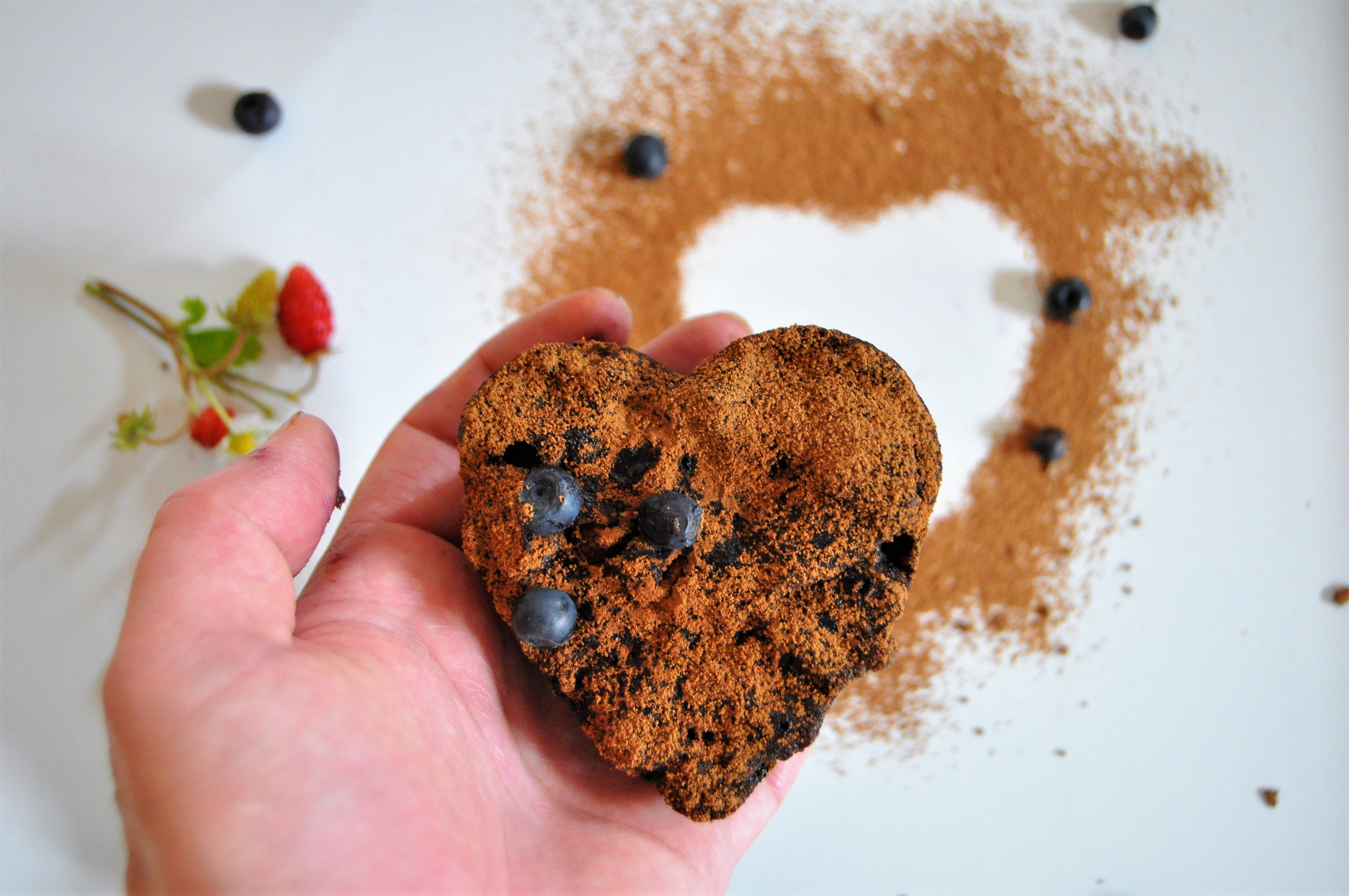 Brownies s borůvkami
