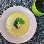 Krémová polévka z pastináku a póru
