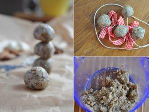 Živá ořechová koule