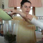 TerapieChutí: zelená polévka a význam zelené barvy nejen v jídle