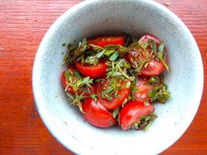 Šrucha s rajčaty