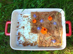 Hruškový koláč na pekáč