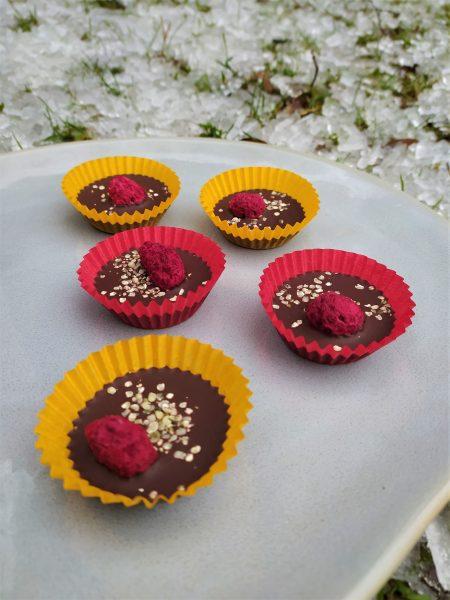 Cukroví na poslední chvíli - čokoládové košíčky